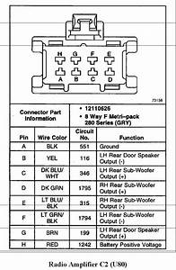2005 Gm Bose Amp Wiring Diagram