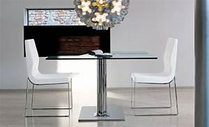 Table Carrée Extensible : mobilier de bureau design table carr e extensible plinto mobilier de bureau entr e principale ~ Teatrodelosmanantiales.com Idées de Décoration