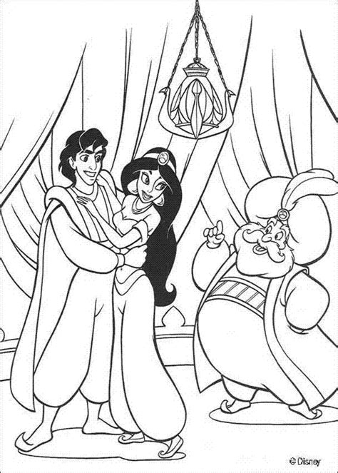 jasmine disney coloring pages coloring home
