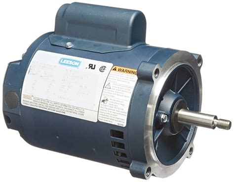 1 2 Electric Motor by Leeson Electric Motor 113641 00 2 Hp 3450 Rpm 1ph 115 208