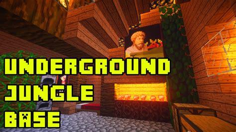 minecraft underground jungle housebase tutorial xboxpepcpsps youtube