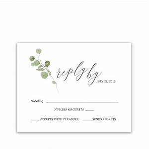 Invitations: Attractive Wedding Rsvp Cards Inspirations ...