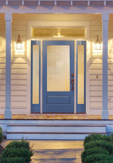 therma tru doors privacy glass from therma tru provides light and