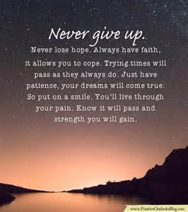 Giving Your Hopes Up Quotes