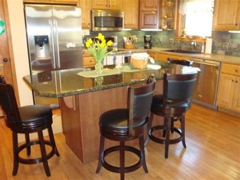 kitchen island with breakfast bar and stools ultimate inspirations home and lanscaping design decozt 9804