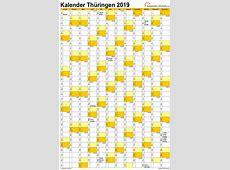 Feiertage 2019 Thüringen + Kalender