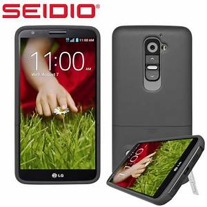 Seidio SURFACE with Metal Kickstand for LG G2 - Black