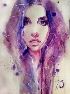 Watercolor Purple by Poplavskaya on DeviantArt