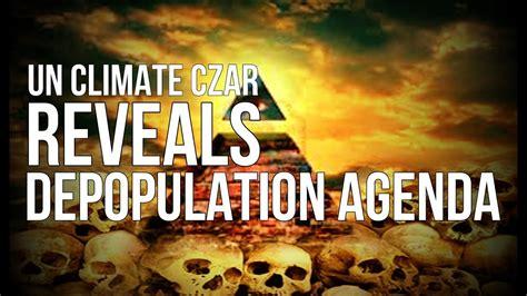 UN Climate Czar Reveals Depopulation Agenda!!! - YouTube