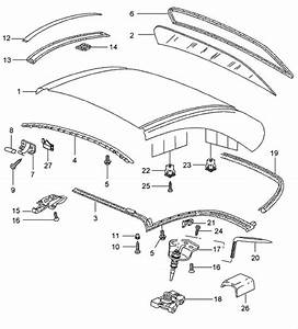 Porsche 996 Hardtop Catch Wrench  99656341301