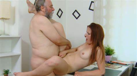 True Sweet And Her Grandpa Gorgeous Looking Teens Doing Her Cooch Eaten And Destroyed By An