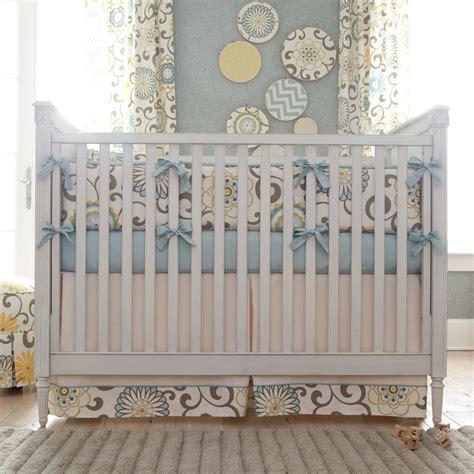 crib bedding spa pom pon play crib bedding gender neutral baby