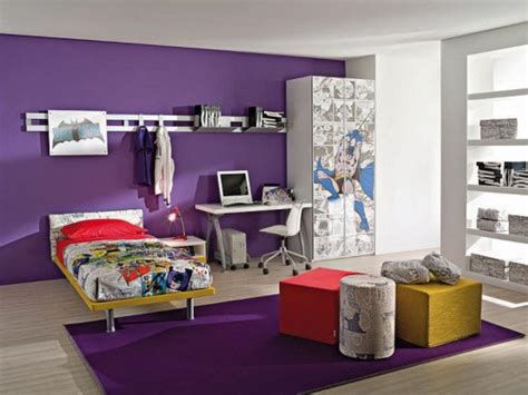 How To Decorate A Bedroom With Purple Walls