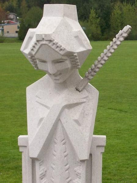 frank lloyd wright full size sprite sculpture  sceptre
