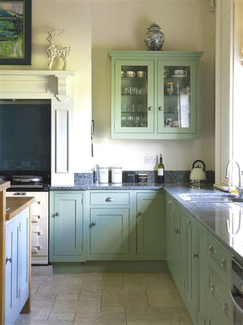 farrow and green blue kitchen traditional kitchen in breakfast room green and dix blue 9664