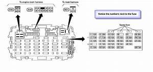 2005 Nissan Frontier Fuse Box Diagram