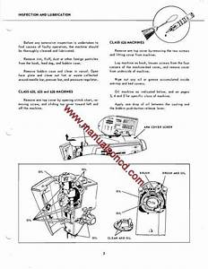 Singer 620 625 626 And 628 Sewing Machine Service Manual Wiring Diagram
