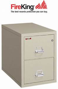 fireking 2 2131 c two drawer fire file cabinet with With fireproof document chest