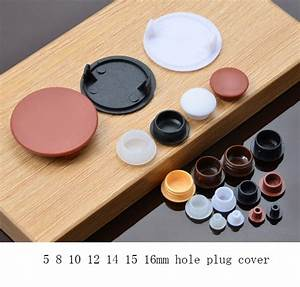 5 8 10 12 14 15 16mm furniture hole plug decoration cap With plastic hole covers for furniture