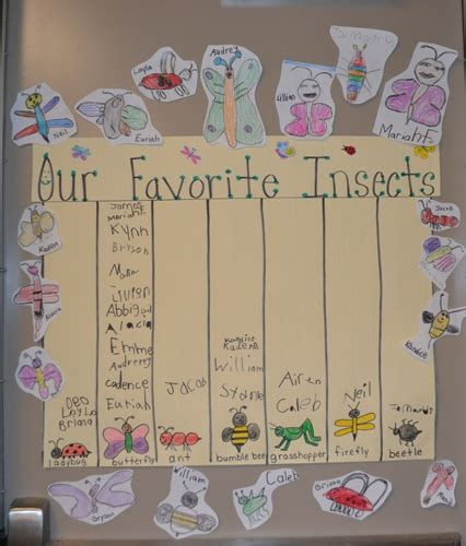 we re bugging out insects scholastic 423 | insect graph