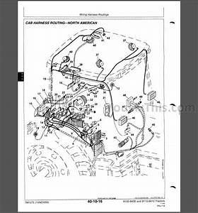 John Deere 8000 8010 Series Repair Manual  Tractor