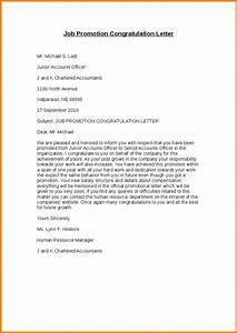 8 Promotion Letter Memo Templates