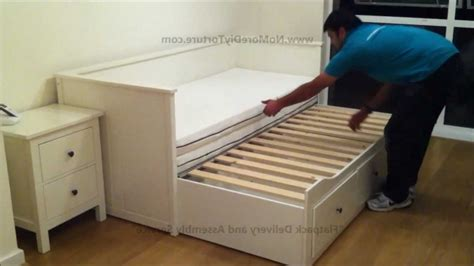 Size Trundle Bed Ikea by Hemnes Daybed Frame With 3 Drawers White Ikea Family