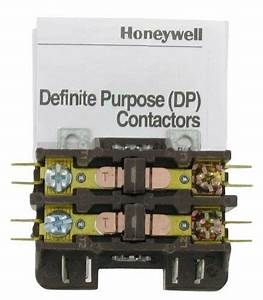 Honeywell Dp2030a5013 24 Vac 30a 2 Pole Definite Contactor