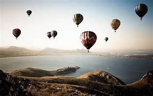 Hot, Air, Balloons, Water, Landscape, Coast, Wallpapers, Hd, Desktop, And, Mobile, Backgrounds