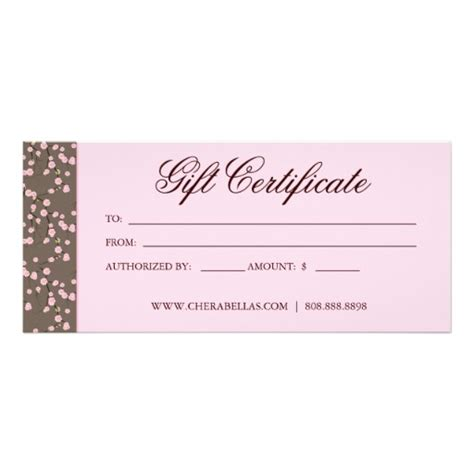 Free Printable Hair Salon Gift Certificate Template by Certificate Template Category Page 12 Efoza