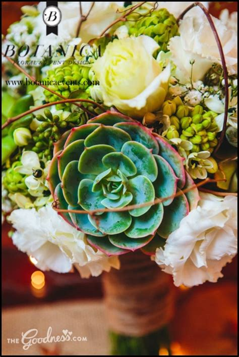 succulent wedding bouquets wedding florist san