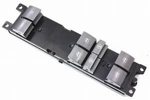 Driver Master Window Switch Controls 04-06 Vw Phaeton - Genuine