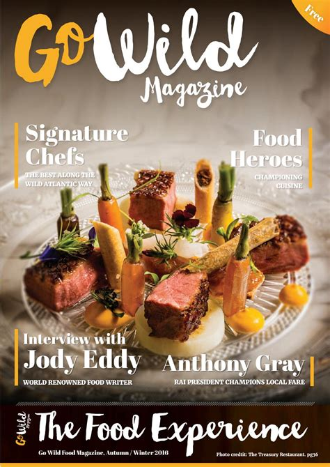 magazine cuisine go magazine the food experience issue 6 by go