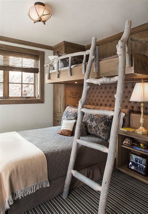 creative bunk bed ideas rustic kids bedrooms 20 creative cozy design ideas