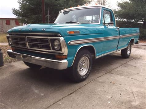 72 ford f100 ranger xlt for sale ford f 100 8 ft bed