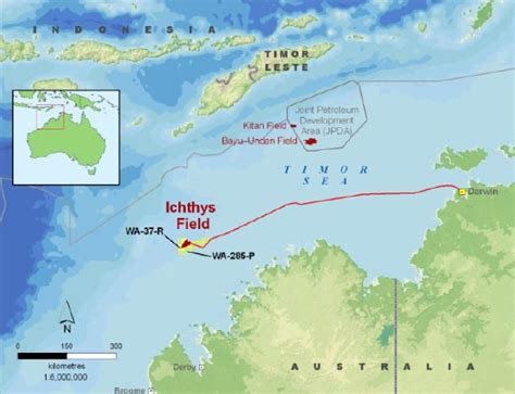 Australia: INPEX, Total Sell All LNG from Ichthys Project ...