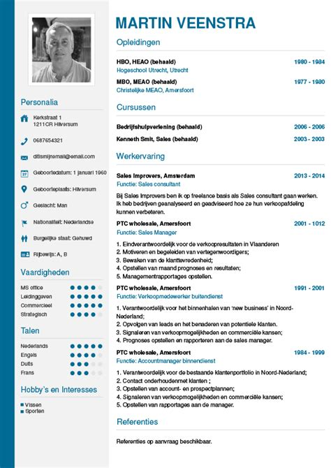 Cv Wizard by Cv Maken In 3 Stappen Je Curriculum Vitae Downloaden