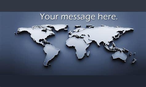 Modern World Map Travel Business Card  Design #901201