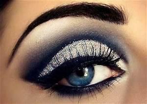 Smokey Eyes Blaue Augen : maquiagens para noite fotos passo a passo simples ~ Frokenaadalensverden.com Haus und Dekorationen