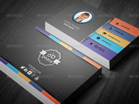 Civil Engineer Business Card 3 By Ethanfx