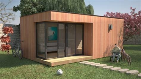 bureau de jardin design bureau de jardin à toit plat