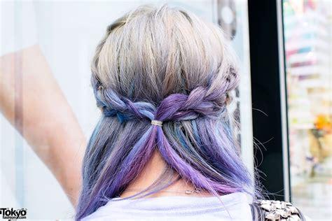 ☯miaw☯ Aspiring Japanese Singer W Dip Dye Hair And Clear