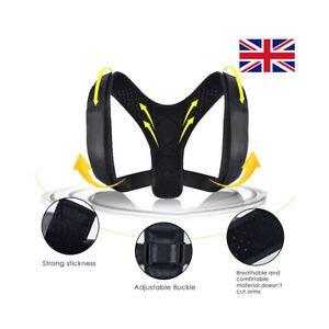 TnP Adjustable Back Brace Shoulder Posture Corrector ...