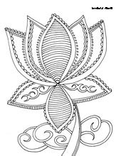 Buddhism Symbols - Religious Doodles