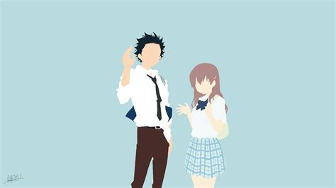 koe  katachi hd wallpaper background image