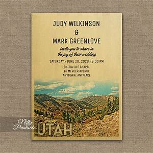 Utah wedding invitation printed nifty printables for Wedding invitation printing utah