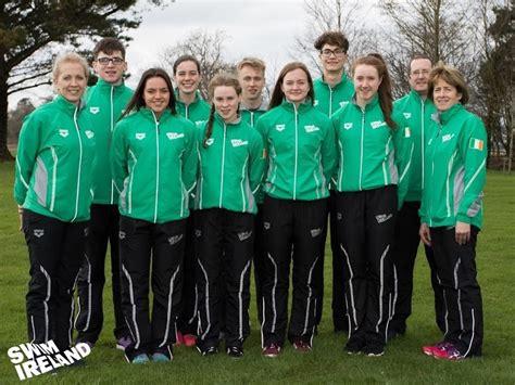 Team Ireland Set for Gymnasiade 2018! | Swim Ireland