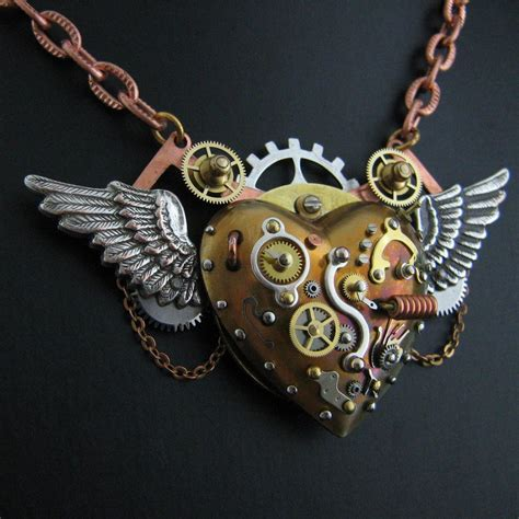 Flying Steampunk Heart In Dock By Steelhipdesign On Deviantart. Cancer Bracelet. Honeycomb Pendant. Ring Sapphire. Platinum Stud Earrings. Matching Ankle Bracelets. Paw Print Lockets. 8mm Pearl Stud Earrings. Solid White Gold Wedding Band