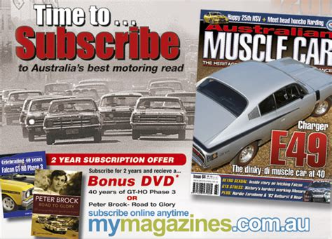 Australian Muscle Car-subscribe