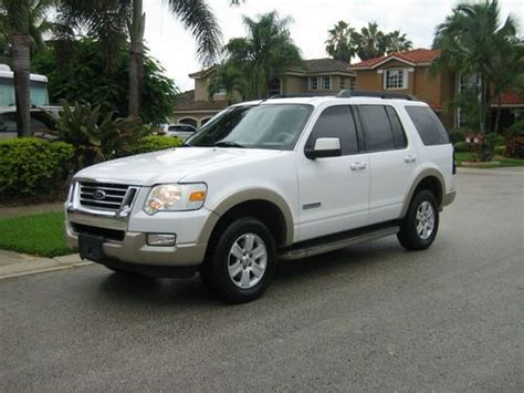 automobile air conditioning service 2007 ford explorer parental controls sell used 2007 ford explorer eddie bauer 4d sport utility in miami florida united states